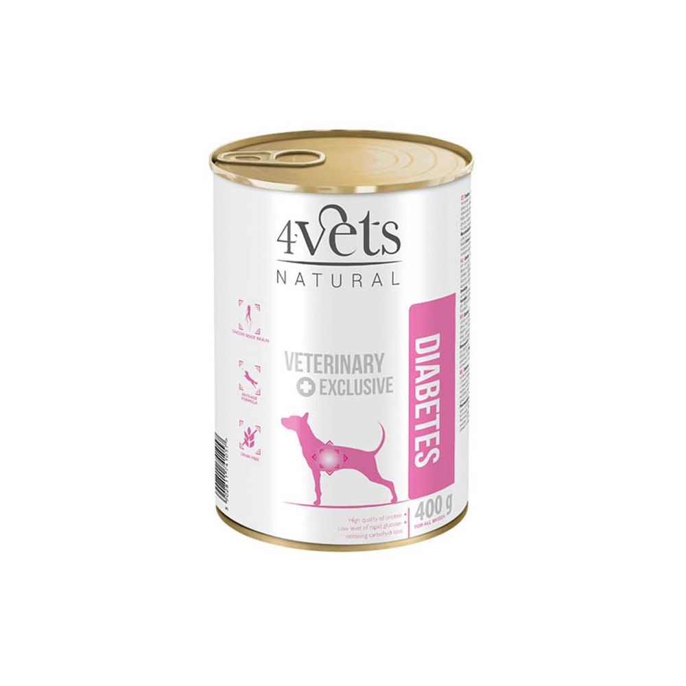 4Vets - Veterinary Diet Diabetes 400gr