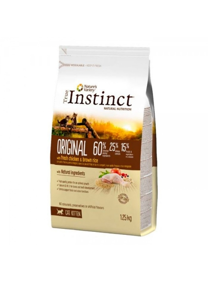 True Instinct Original Kitten Chicken 1.25Kg