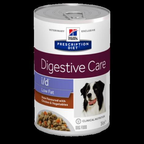 i/d Canine - Digestive Care Low Fat Frango e Vegetais 354gr