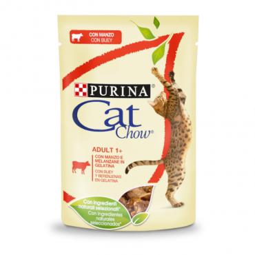 Cat Chow - Adulto Carne de Vaca 85gr
