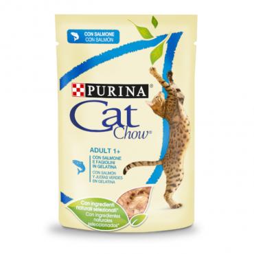 Cat Chow - Adulto Salmão 85gr