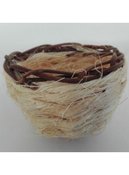 Ninho de Sisal c/ Aro em Verga