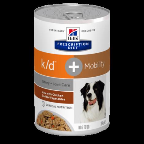 k/d Canine - Kidney & Joint Care + Mobility 354gr (1+1 OFERTA)