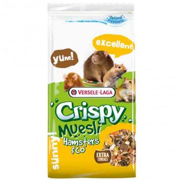 Ração Versele-Laga Crispy Muesli - Hamster & Co