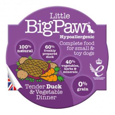 Little Big Paw - Pato e Vegetais