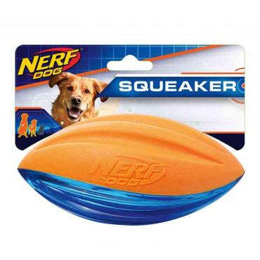 NERF - Bola de Rugby Espuma Resistente c/ Som M