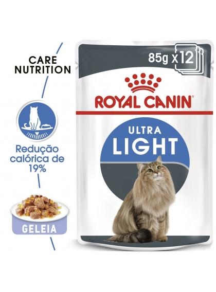 Ração para gato Royal Canin Wet Ultra Light Jelly