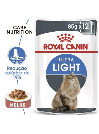 Ração para gato Royal Canin Wet Ultra Light Gravy
