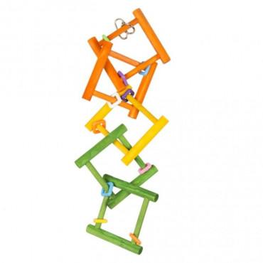 Duvo+ Escada de Madeira Colorida