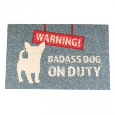 Duvo - Tapete Exterior Warning