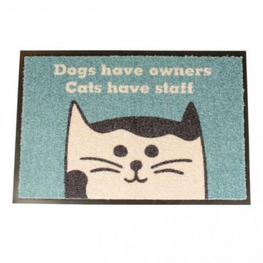 Duvo - Tapete Interior Cats Have Staff