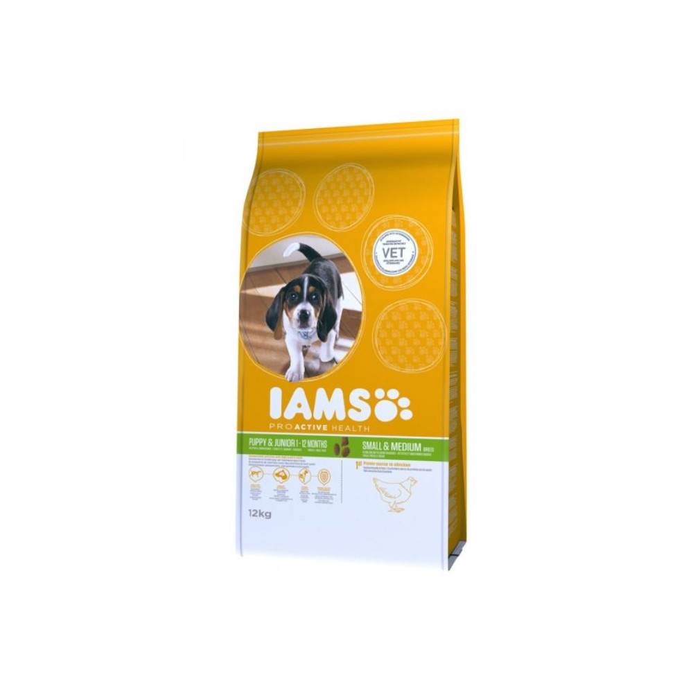 IAMS Dog - Puppy & Junior Small Breed 12kg