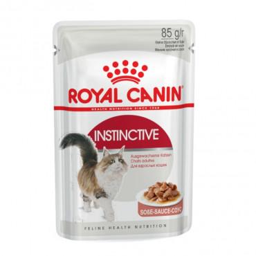 Royal Canin Instinctive em molho Gato Adulto