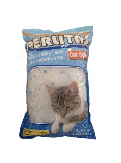 Areia Silica Perlitas - Cat Litter 7.5kg