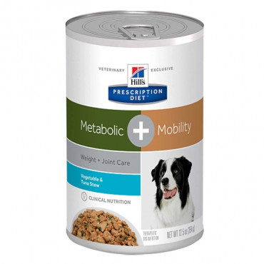 Metabolic Canine - Weight & Joint Care + Mobility Atum e Vegetais 354gr