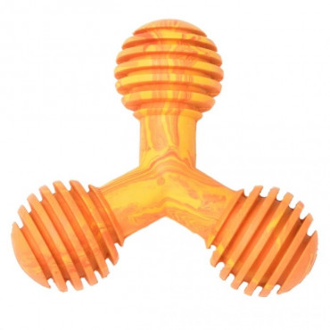 Duvo+ Brinquedo Y-Toy de Borracha com sabor a Frango