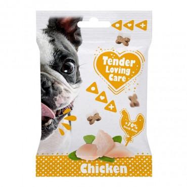Duvo+ Soft Snacks de frango para cão