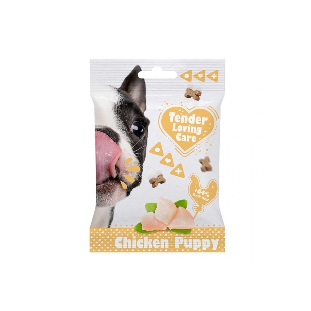 Duvo+ Soft Snacks de Frango para Cachorros 100gr