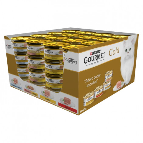 Gourmet Gold - 50 Latas 85gr + 14 Latas Oferta