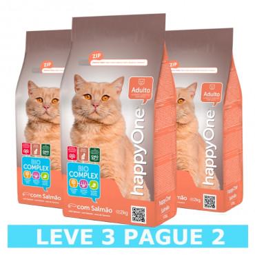 happyOne - Gato Salmão (Leve 3 e Pague 2)
