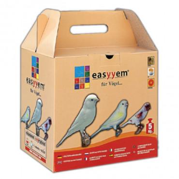 Easyyem - Papa de Ovo para Canário Branco 5kg