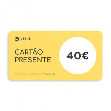 Cartão Presente Goldpet 40€