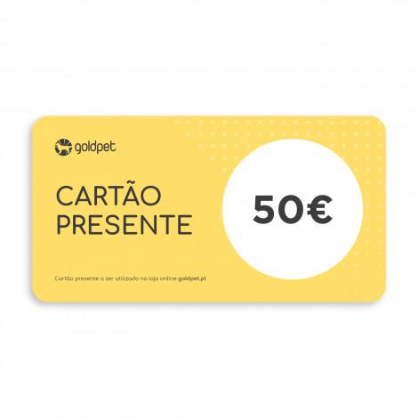 Cartão Presente Goldpet 50€