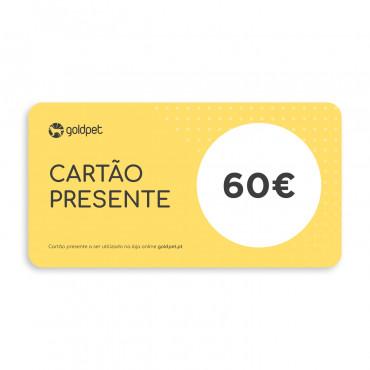 Cartão Presente Goldpet 60€