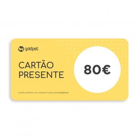 Cartão Presente Goldpet 80€