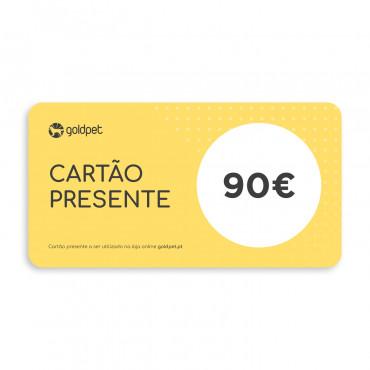 Cartão Presente Goldpet 90€