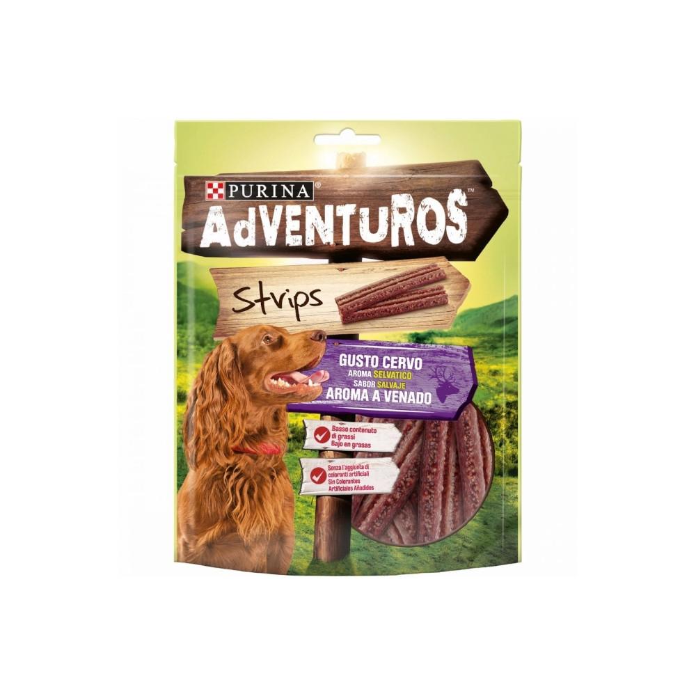 Purina - Adventuros Strips de Veado 90gr (1 + 1 OFERTA)