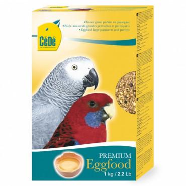 Duvo+ Papa de Ovo para Papagaios e Grandes Periquitos 1kg