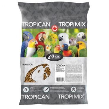 Grânulos Tropican de Alto Desempenho para Papagaios