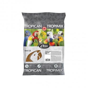 Tropican Grânulos Fórmula Vitalícia para Papagaio 11,34kg