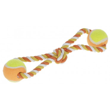 Kerbl Brinquedo de Cordas e Bolas para cães