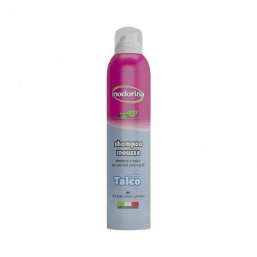 Inodorina Shampoo Mousse - Talco 300ml