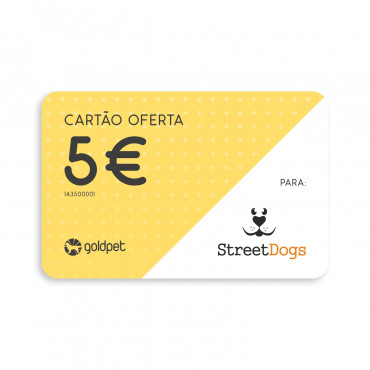 Cartão Oferta - StreetDogs Proteção Animal