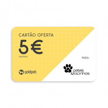 Cartão Oferta - Quatro Patas e Focinhos