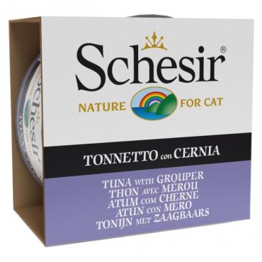 Schesir Gato Atum com Cherne