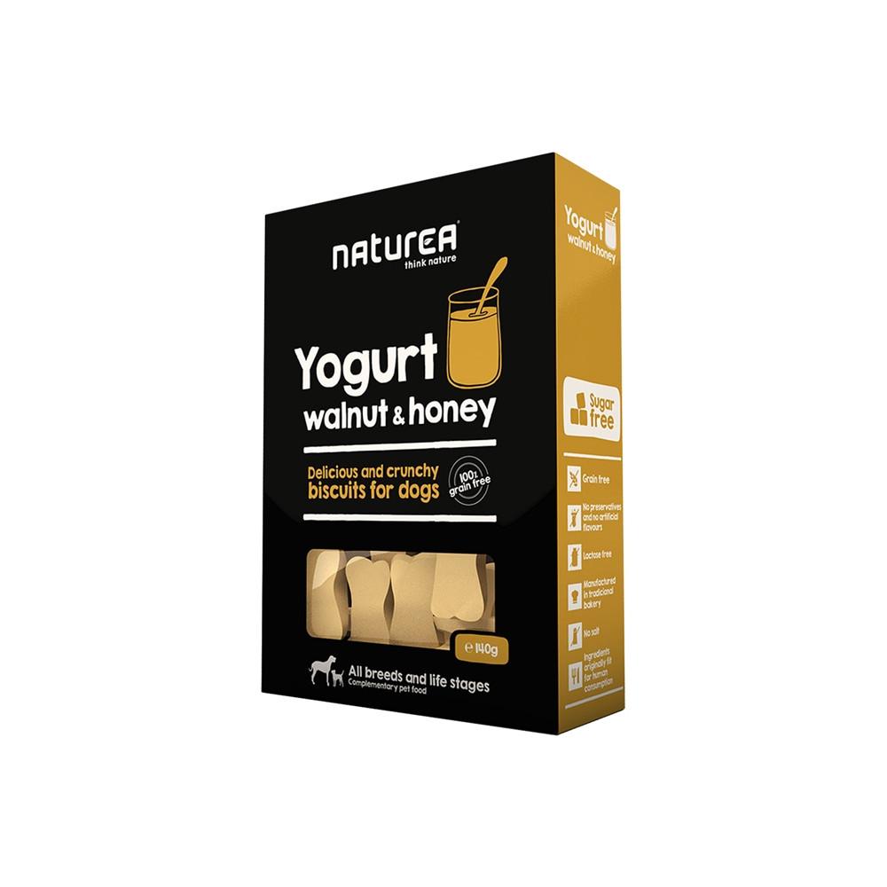 Naturea Biscuits - Yogurt, Walnut & Honey 140gr