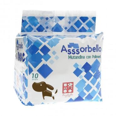 Ferribiella Fraldas com Polímeros para cão 10pcs