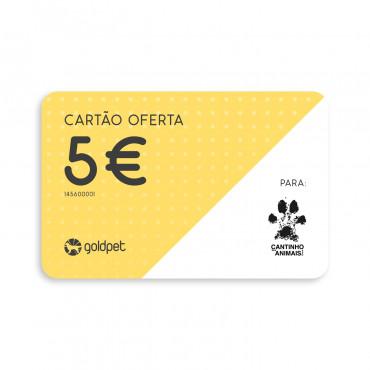 Cartão Oferta - Cantinho dos Animais de Évora