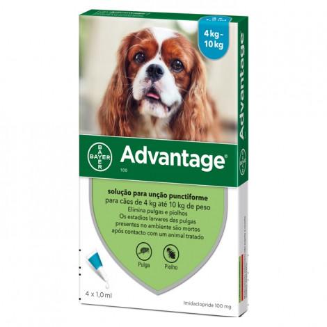 Advantage Cão 4-10kg