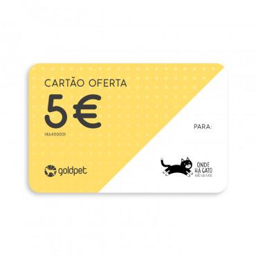Cartão Oferta - Onde há gato, não há rato
