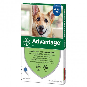 Pipetas pra cão 25-40 kg Advantage