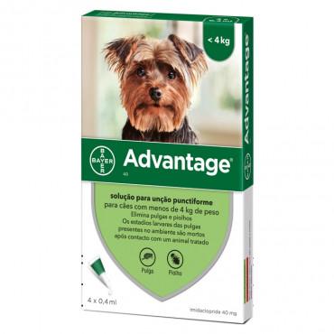 Advantage Cão ≤4Kg