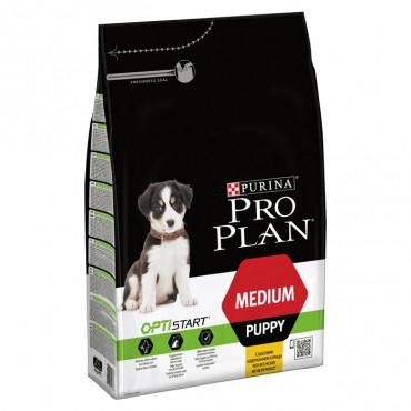Pro Plan Optistart Cão Puppy Medium Frango