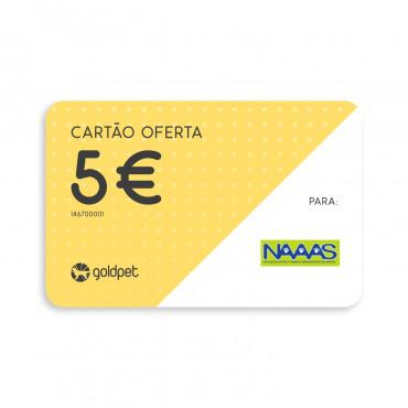 Cartão Oferta - NAAS - Núcleo de Apoio a Animais Abandonados de Sintra