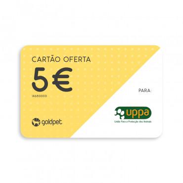 Cartão Oferta - UPPA - União Para a Proteção dos Animais