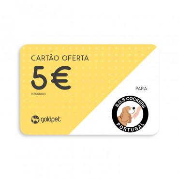 Cartão Oferta - S.O.S. Cockers Portugal